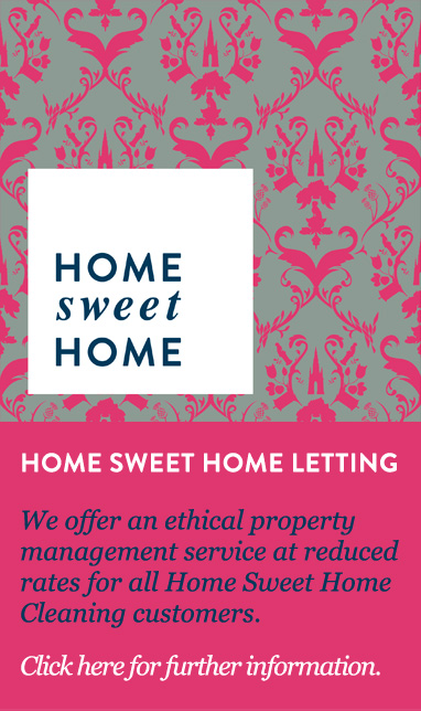 Home Sweet Home Letting Banner